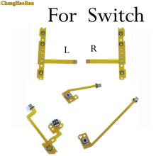 ChengHaoRan 1x Replacement For Nintendo Switch Joy-Con ZR ZL L SL SR Button Key Ribbon Flex Cable On Off Volume Button Connector