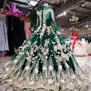 Image 3 - AIJINGYU Wedding Dresses 2021 2020 Gown Luxury Modern With Sleeves America Lace Bridal Gowns For Sale engagement Wedding Dress