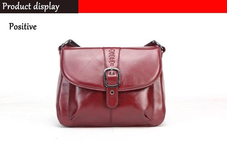 High Quality leather bag black