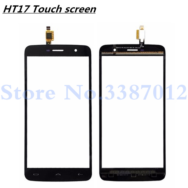 5.5'' Replacement High Quality For <font><b>Homtom</b></font> <font><b>HT17</b></font> HT 17 <font><b>Touch</b></font> <font><b>Screen</b></font> Digitizer Sensor Outer Glass Lens Panel image