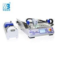 Низкая стоимость SMT палочки и место машина/Дешевые chip mounter модель ZB3245T max 320*450 мм для конвейерная линия SMT