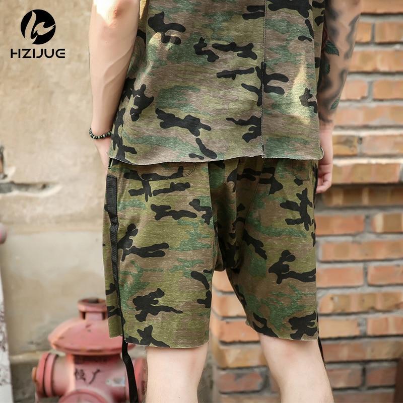 HZIJUE moške kratke hlače maskirni hip hop Justin Bieber slog - Moška oblačila - Fotografija 4