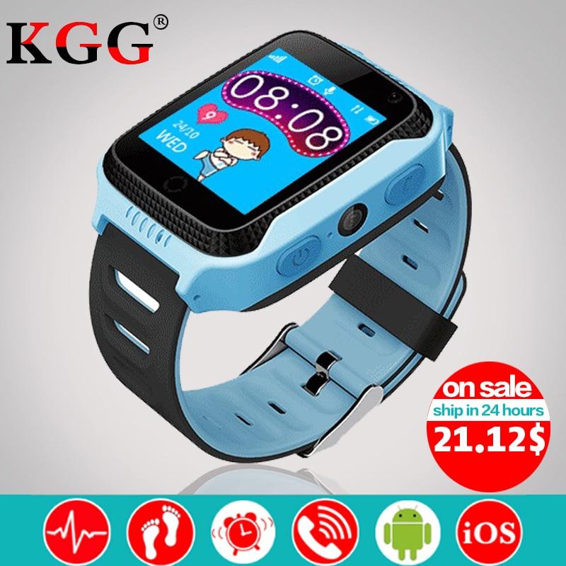 Q528 Y21 Touch Screen Kids GPS Watch with Camera Lighting Smart Watch Sleep Monitor GPS SOS