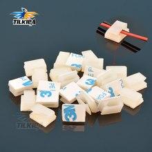 10 шт., держатель-крепление для проводов и кабелей с клеем 3 м