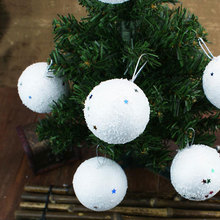 Buy   6 pcs/bag White ball Christmas  online