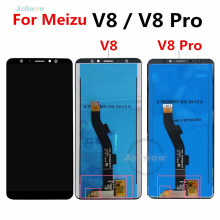 Black 5.7 inch  For Meizu V8 LCD Display Touch Screen Digitizer Assembly Global Version 4GB 64GB for Meizu M8 V8 Pro LCD цена