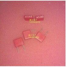 100% оригинальный ложным компенсировать десять wima красный вэй ма пленочный конденсатор 0.1 МКФ 63 В/104 5 мм pin шаг (5 ШТ.) mail. ..
