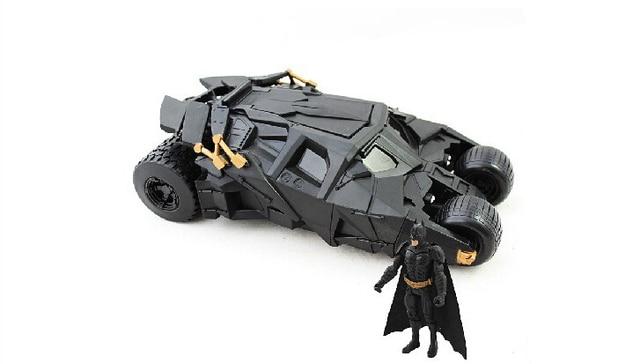 New hot sale anime figure gift Batman toys Phantom Chariot BATMAN The Dark Knight Rises Batmobile toy tanks 22CM free shipping