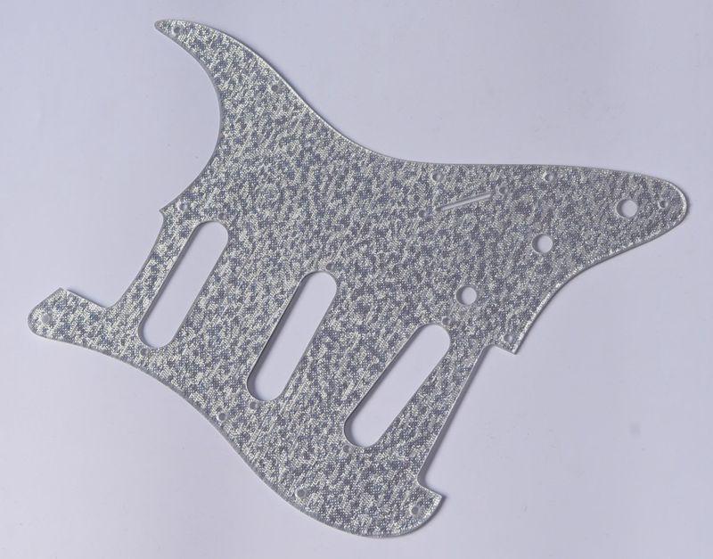 KAISH kaish Silver Sparkle ST Strat SSS Guitar Pickguard for Fender Stratocaster