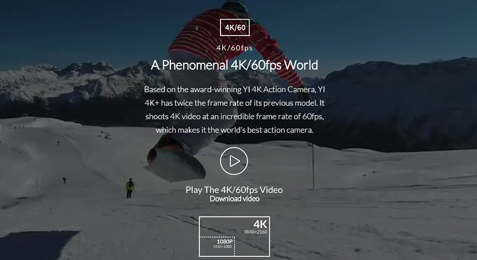 XIAOYI YI 4K+ ACTION SPORTS CAMERA 2