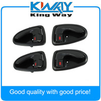 NEW INSIDE INNER DOOR HANDLE 4 PCS ONE SET Front Rear Left Right Side FOR Hyundai