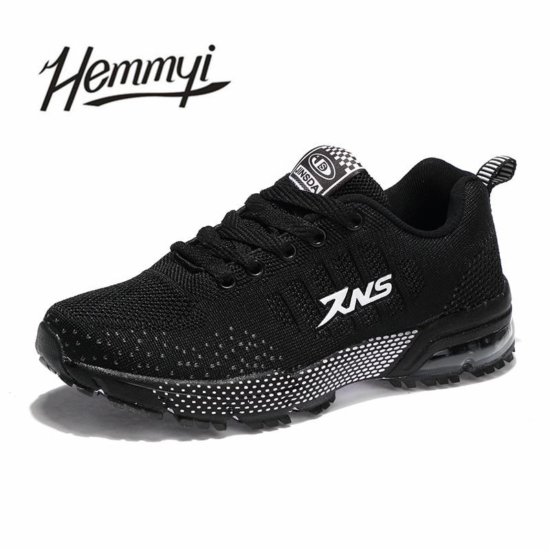 51f7ed8b9826c ... zapatillas fashion Hemmyi casual 2018 basket shoes breathable black  sneakers women femme tenis new feminino mujer ...