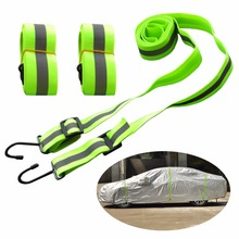Kayme Gust Car Cover Straps Wind Protector,3pcs Elastic Adjustable Rope Protect Cover from High Wind, Universal Fit