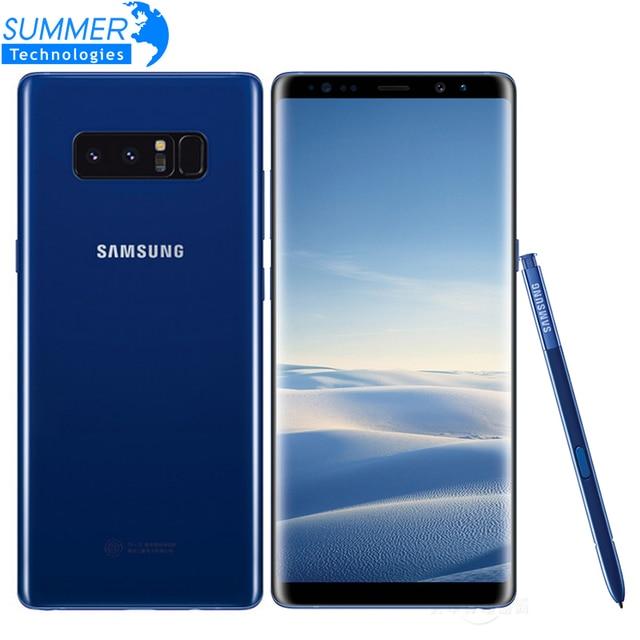 Original Unlocked Samsung Galaxy Note 8 Smartphone 6GB RAM 64GB ROM Dual...