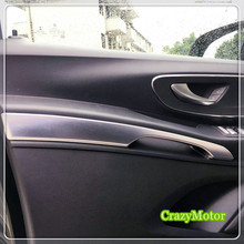 Para Mercedes-benz Vito W447 2014-2017 Puerta Interior Decoración Apoyabrazos Trim car-styling accesorios para automóviles