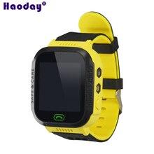 Детские наручные часы трекер GSM GPRS дети локатор Y21S 2 г трекер без gps модуль один ключ SOS мульти-функция часы трекер без коробки