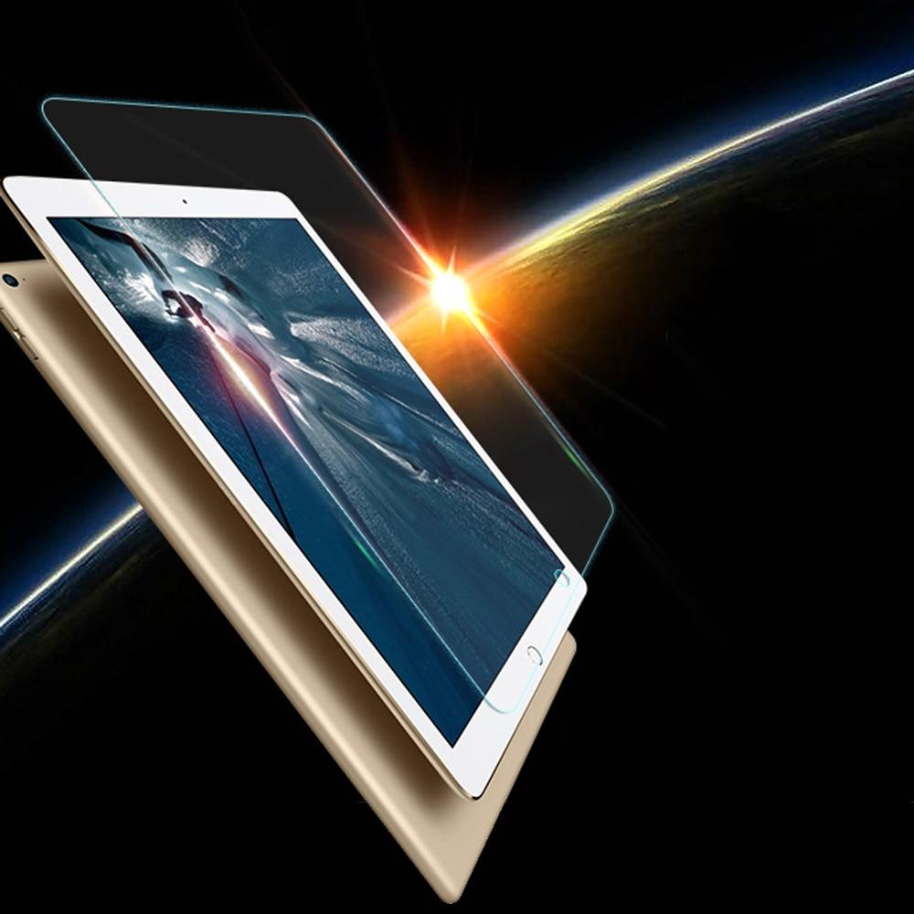 For iPad Pro 10.5 iPad 2017 9.7 Screen Protector 9H 2.5D Tempered Glass For iPad Air 1 2 Mini 1 2 3 4 Pro 9.7 12.9 Glass Flim 2pc glass protector for apple ipad air 1 2 pro 9 7 10 5 scratch resistant screen guard 3 4