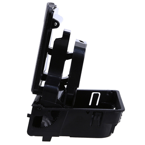 Image 5 - Mayitr New Black Center Console Armrest Cup Holder Water Drink Holder Stand For V W J etta MK 5 G olf MK 5 MK 6 GT I R 32