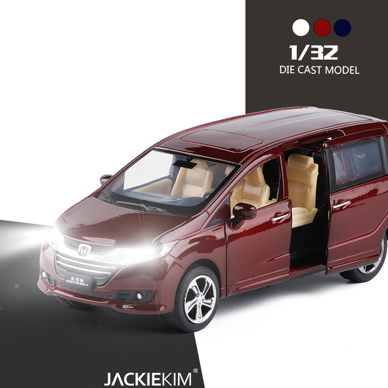 Toy Vehicles Car-Toys Diecasts Collection Boy Gift Honda Odyssey 1:32 With Sound-Light