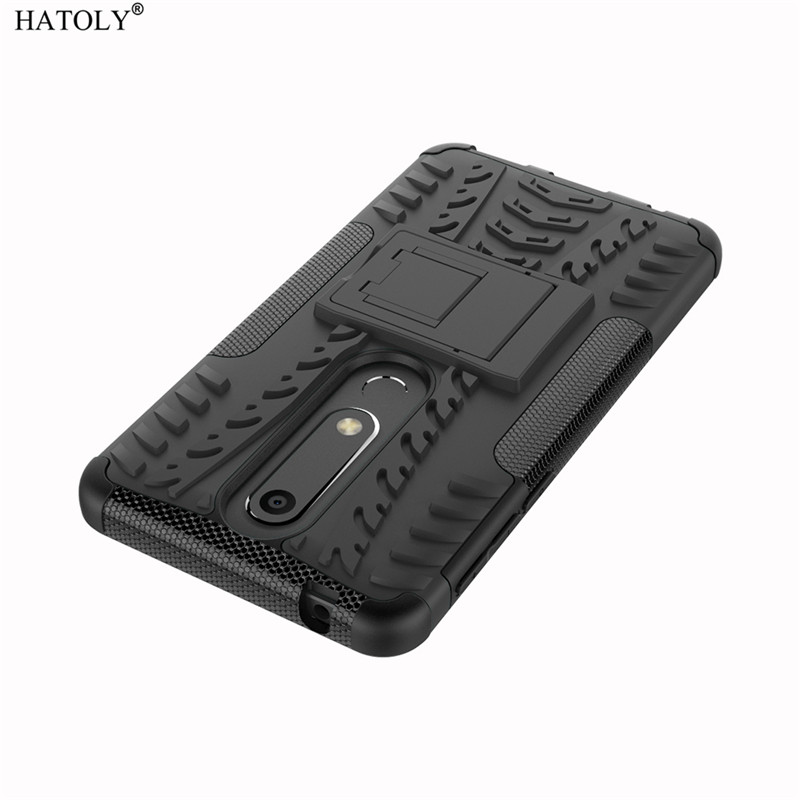 For Cover Nokia 6 2018 Case Hard Silicone Plastic Phone Bumper Case For Nokia 6 2018 6 1 Cover Case Funda For Nokia 6 2018 Capa in Fitted Cases from Cellphones Telecommunications