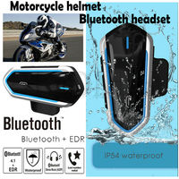 Motorcycle Intercom Bluetooth Helmet Headset Outdoor Waterproof Headset New