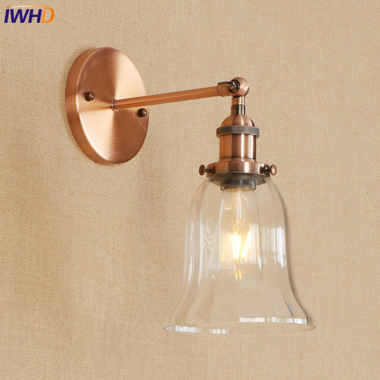 IWHD Nordic Loft Wall Lamp Vintage Edison LED Wandlamp RH Fixtures For Home Lighting Retro Wall Light Applique Murale LuminaireIWHD Nordic Loft Wall Lamp Vintage Edison LED Wandlamp RH Fixtures For Home Lighting Retro Wall Light Applique Murale Luminaire