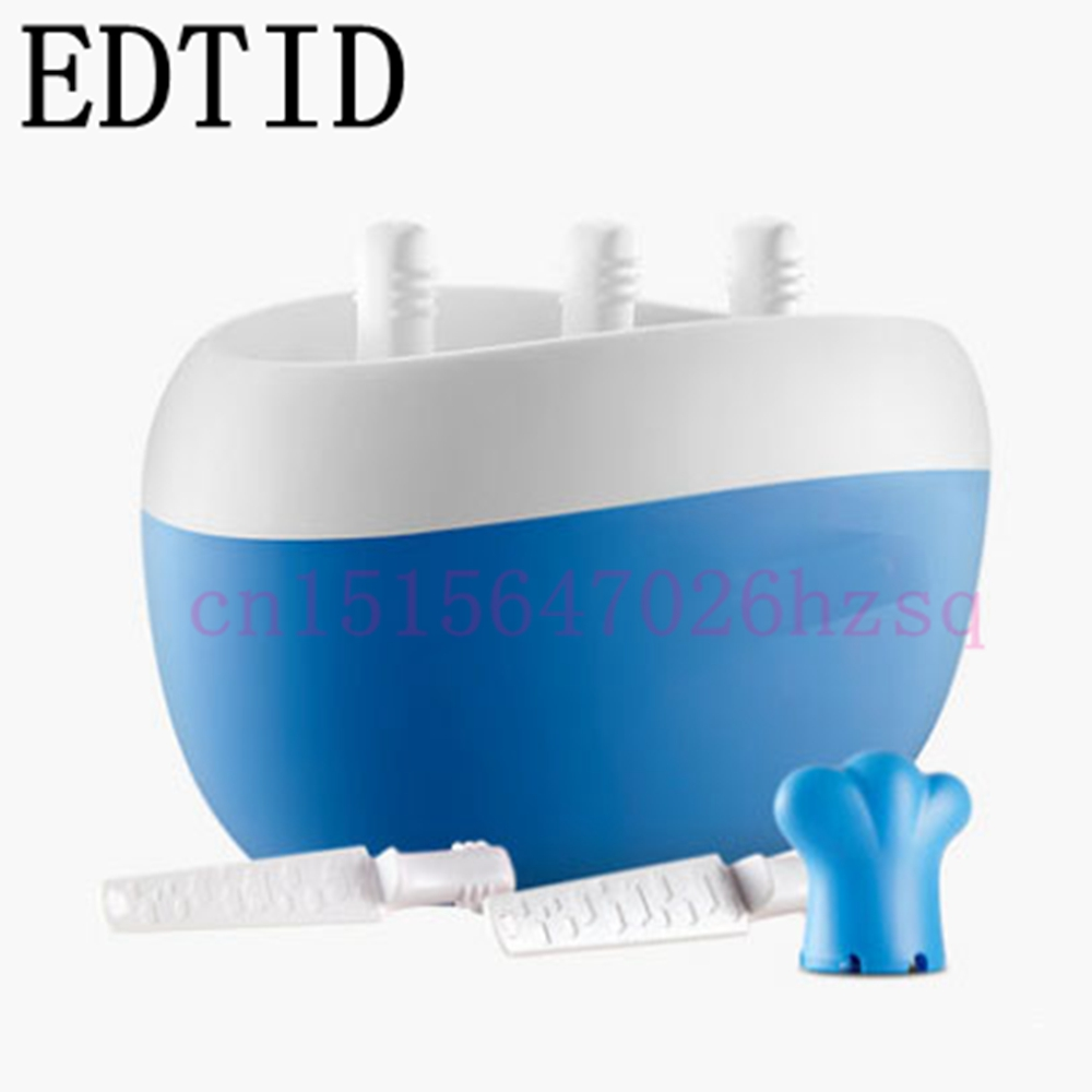 EDTID Fruit Ice Cream Maker Household Ice Cream Machine for kids fruit ice cream feeder from factory selling gelato fruit nuts mixer