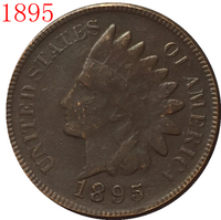 1895 Indian head cents coin copy FREE SHIPPING