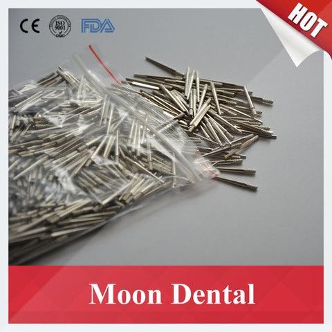 1000 Pe as 7 Pequeno Ferramentas Passador Pinos de Lat o Prateado Dental Material de