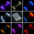 2M LED String Mini Fairy Lights 3XAA Battery Operated White/Warm White/Blue/Yellow/Green/Purple/Pink Christmas Ligh