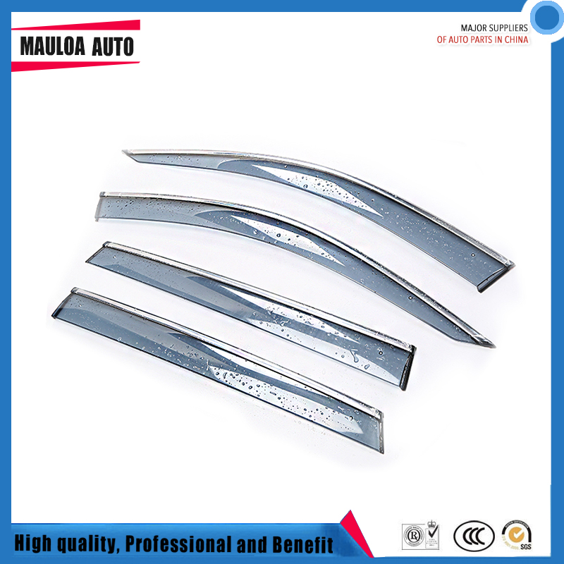 4 Piece Injection molding trim vent shade rain sun wind deflector window visor for Q7 2006-2015 2016-20184 Piece Injection molding trim vent shade rain sun wind deflector window visor for Q7 2006-2015 2016-2018