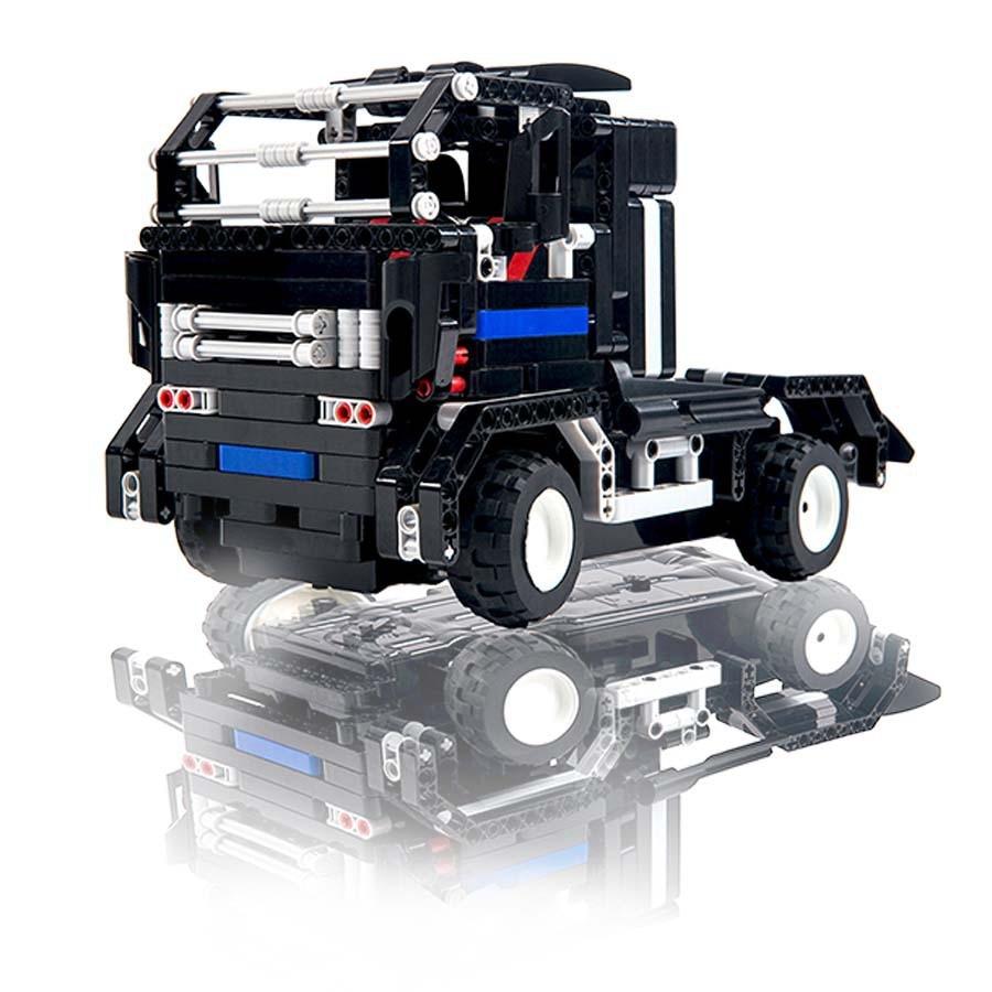 DIY puzzle assembly remote control car toy 8008 electric childrren building block educational parent-child interactio toy model цена