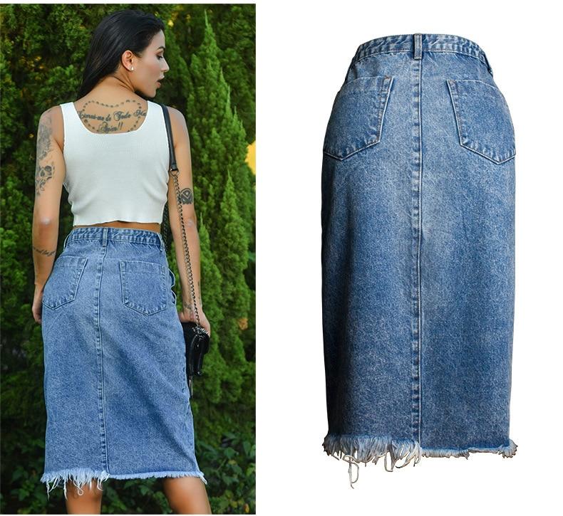Skirt of female skirt hairline furl furl to wrap hip bull-puncher skirt irregular tassel tall waist skirt of halter MIDI skirt (10)