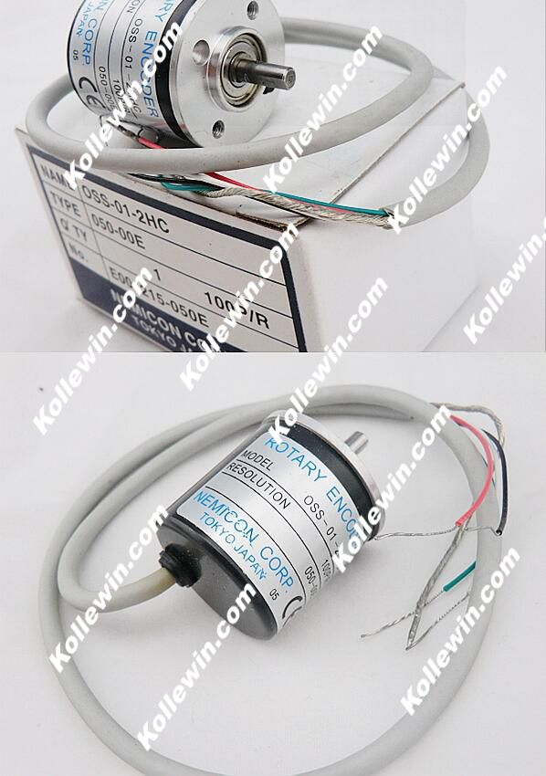 OSS-01-2HC control rotary encoders solid shaft 4mm 100 cable outer diameter of 30mm, new in box. close control of the rotary encoder 1800 line shaft diameter 6mm outer diameter of the inner supply of oew2 18 2hc 38mm