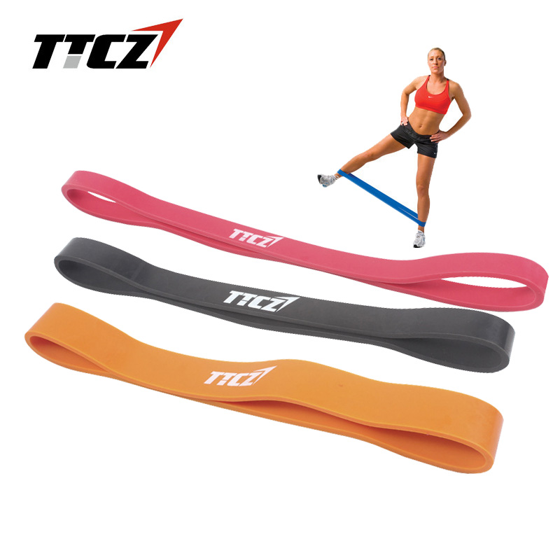 3pcs/set 3 Levels Pilates Yoga Exercise Pull Strap Rubber Resistance Bands Cross fit Elastic Stretching Belt Fitness Equipment
