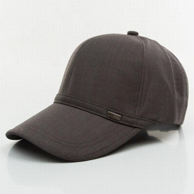 Primavera e no verão boné de beisebol chapéu da forma de lazer homem primavera viseira esportes de verão respirável algodão caps osso viseira borda