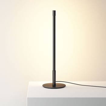 Dimmable Wall Reflector Table Lamp / 49cm High / Tube Design Aluminum Body with Steel Base