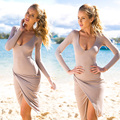 2017 Spring Summer Autumn Dress Women Sexy Nightclub Clothes Sheath Bandage Wear to Party Club Pencil Dresses Vestido Robe Sexy