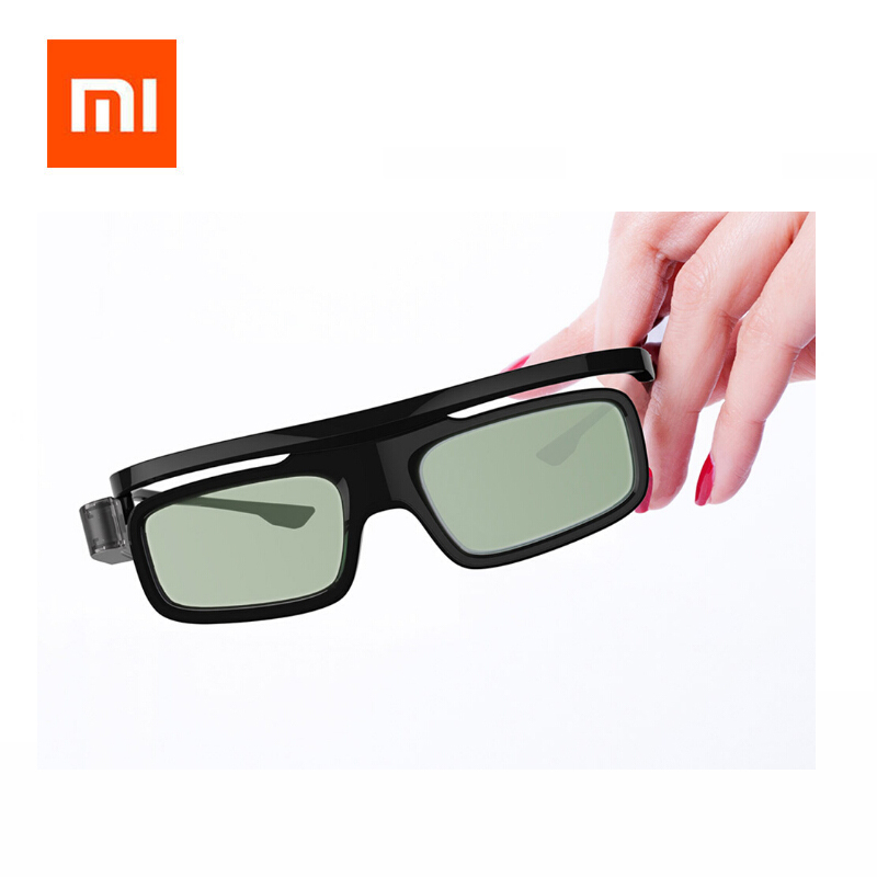 Original Xiaomi Link Shutter Type 3d Glasses For 3d Movie And Laser Projection Tv Products