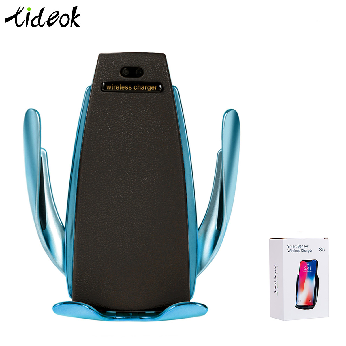 Clamping-Phone-Holder Car-Charger Induction Universal Automatic Wireless S5 Infrared