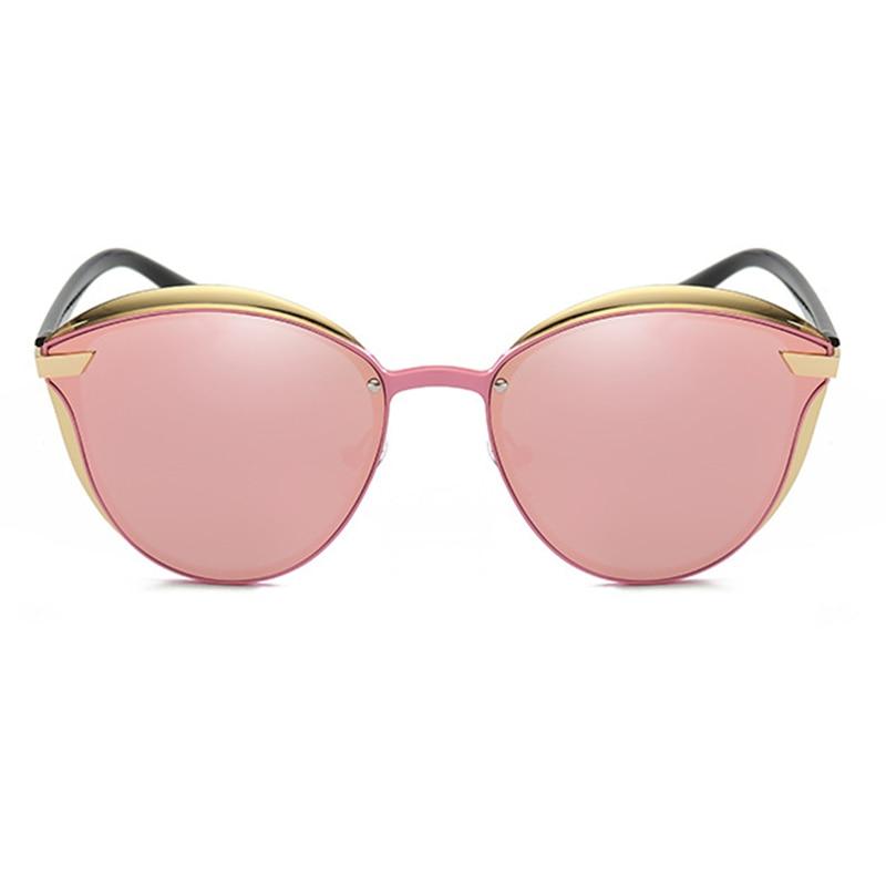 SKYDOVE Women sunglasses oversized 2018 UV400 Sunglasses Round Brand Luxury Sun Glasses Womens 2018 Sunglasses Women Mirror