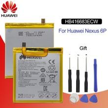 Original Battery For HUAWEI NEXUS 6P HB416683ECW 3450mAh For Huawei Nexus 6P H1511 H1512 Replacement Phone Battery with 9 Tools цена