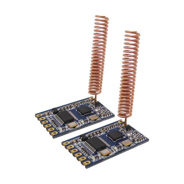 2 шт./лот SV610-1 км-1.4 км 433 МГц 470/868/915 МГц TTL Интерфейс 100 МВт Беспроводной Передатчик и Приемник Rf-модуль