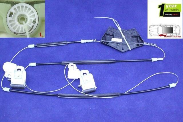 Free Shipping For VW Passat B5 1997 1998 1999 2000 2001 2002 2003 2004 2005 New Window Regulator Repair Kit Front Left 3B1837461