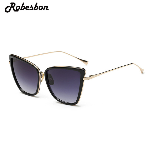 Hot Sale Womens Brand Fashion Cat Eye Sunglasses Women Vintage Glasses for  Women or Female Retro Sun Glasses D Eyewear Gafas 1e6d3d2b5d61
