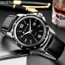 WLISTH NUEVA Relojes de Los Hombres Superiores de la Marca de Moda reloj de cuarzo Ocasional Impermeable Hombre Reloj relogio masculino Hombres Deportes Ejército Analógico