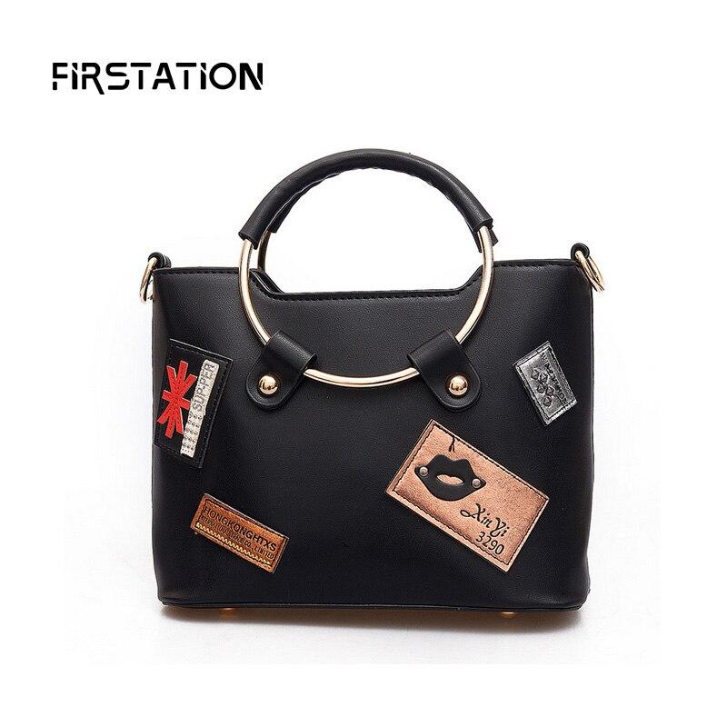 ФОТО 2017 Women Designer Handbags High Quality Bagde Female Shoulder Bag Famous Brand Round Ring Handle Messenger Bags Bolsas Wm0466