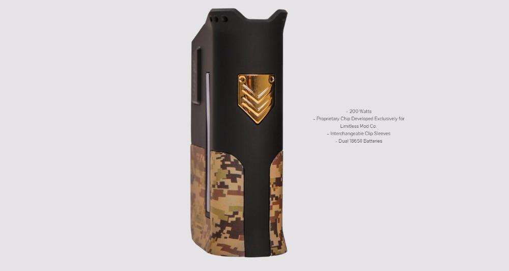 Limitless Arms Race Box Mod-3
