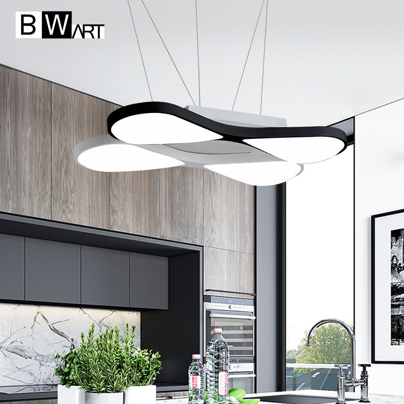 BWART Modern LED ceiling pendant lamp Suspended Pendant Modern light fixtures Hanging luminaire home lighting led ceiling pendant lamp black white red color indoor home decoration modern led light lighting luminaire