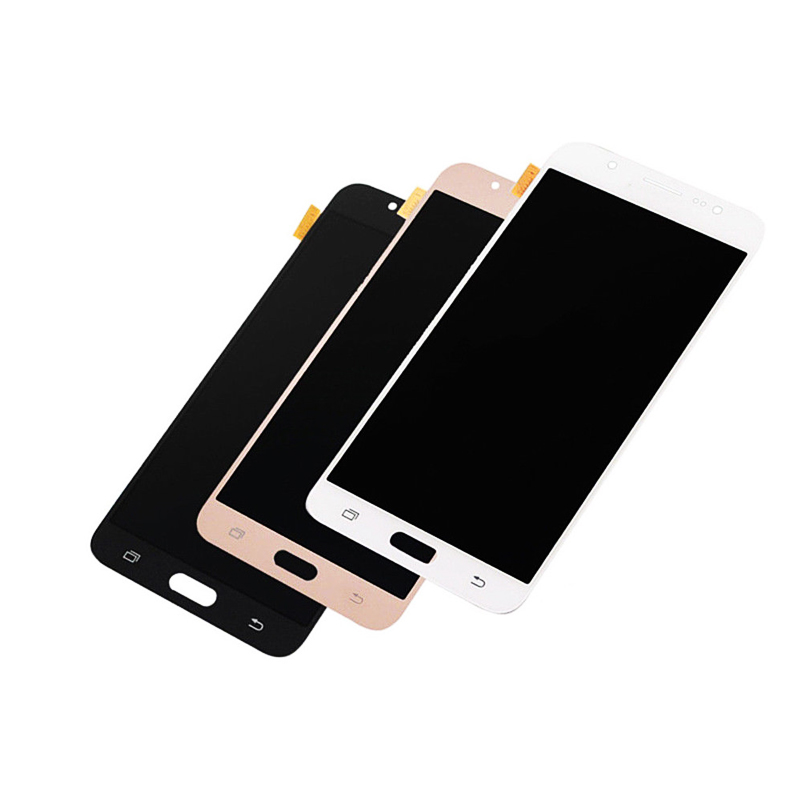 LCD Display For Samsung Galaxy J710 J7 2016 J710F J710M J710FN Touch Screen Digitizer Assembly Adjustable Brightness in Mobile Phone LCD Screens from Cellphones Telecommunications